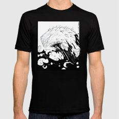 Moby Dick MEDIUM Mens Fitted Tee Black