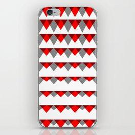 embers geometric pattern iPhone Skin
