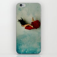 murakami iPhone & iPod Skins featuring Endless River by Maria Amore