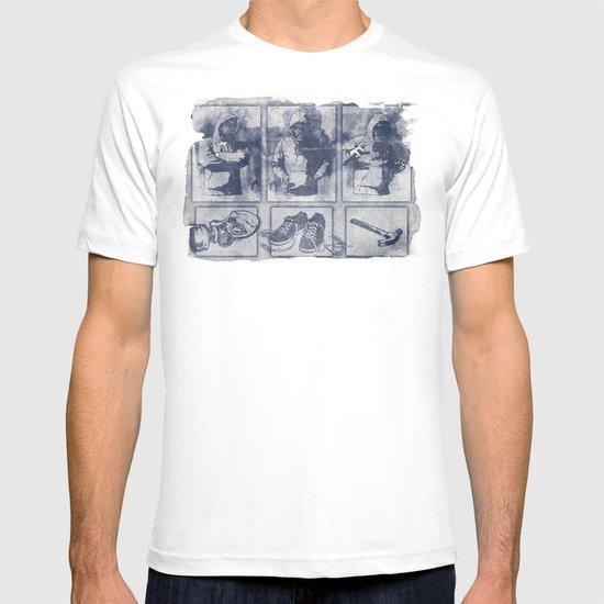 Vigilante Blueprint T-shirt