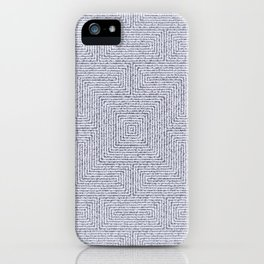 Bardarbunga Silver iPhone Case