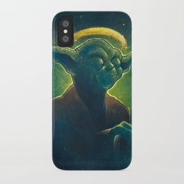 The Contemplation of Saint Yoda iPhone Case