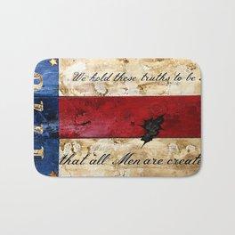 1776 Bennington Flag Bath Mat
