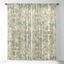 Handstand Sheer Curtain