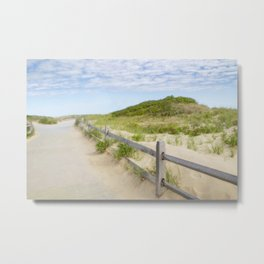 Marconi Beach, Cape Cod Metal Print