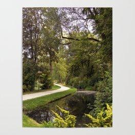 DE - Baden-Wurttemberg : Gardens of Laupheim Poster