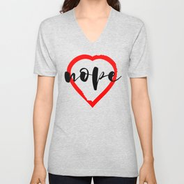 Nope Anti Love Valentine's Day Unisex V-Neck