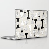 bow Laptop & iPad Skins featuring bow pattern by Georgiana Paraschiv