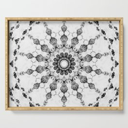 Damask design Serving Tray