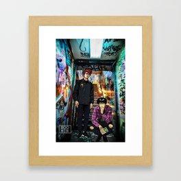 The Slam Dunk Framed Art Print