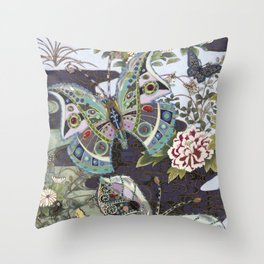 Sweet Scented Streams Throw Pillow