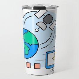NASA Exploration Equipment and Supplies 2.0 Travel Mug
