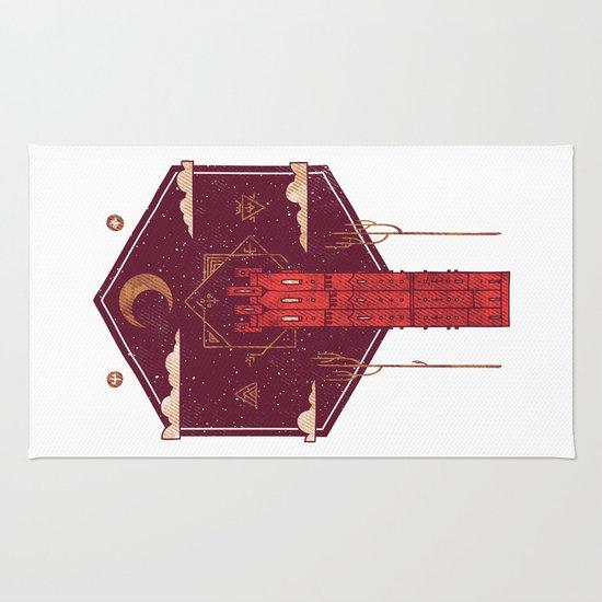The Crimson Tower Rug