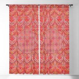 Kashmir North Indian Moon Shawl Print Blackout Curtain