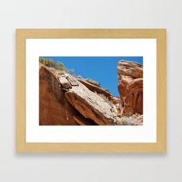 Colorado National Monument Framed Art Print