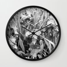 Colorless Wall Clock