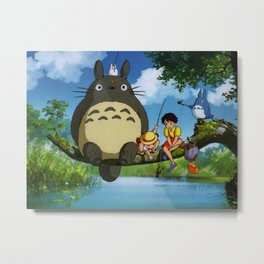 mxcpanime my neighbor Metal Print