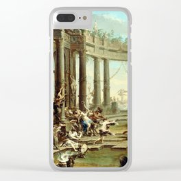 Alessandro Magnasco Bacchanale Clear iPhone Case