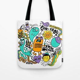 Fun & Cool Tote Bag