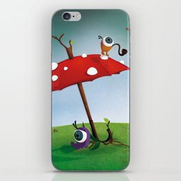 The Eyez - Umbrella iPhone Skin