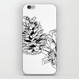 White Pine Cones iPhone Skin