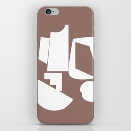 Shape study #17 - Inside Out Collection iPhone Skin
