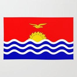 Kiribati country flag Rug