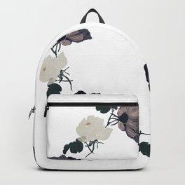 Night garden roses - flower crown Backpack