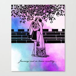Shakespeare - Twelfth Night - Lovers Canvas Print