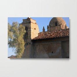 Carmel Mission Basilica Metal Print