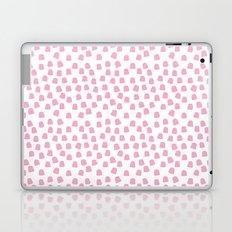 Dots Pink Laptop & iPad Skin