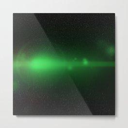 Green Orb N1 Metal Print