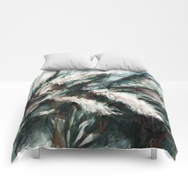 Pampas Grass 1i by Kathy Morton Stanion Comforters