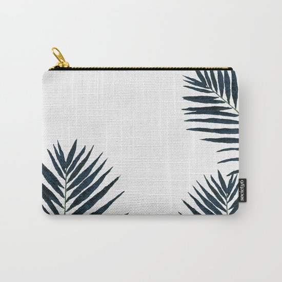 Fern Black Carry-All Pouch