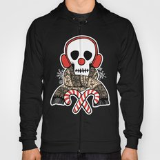 Stay Warm Holiday Skull Hoody