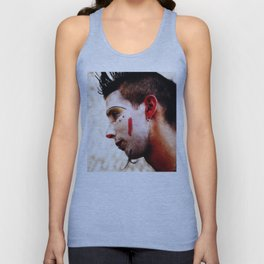 No one touch the clown Unisex Tank Top