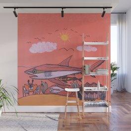 Galopagos Shark & Friends Wall Mural
