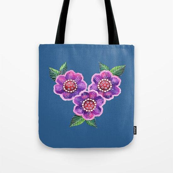 Purple Flowers I Tote Bag
