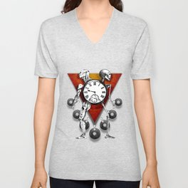 Trapped in the Moment Unisex V-Neck