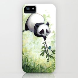 Panda Hello iPhone Case