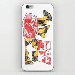 M for Maryland iPhone Skin
