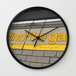 A Day in London Wall Clock