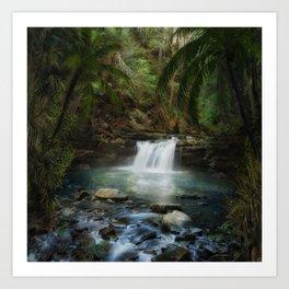 The Jungle 2 Art Print