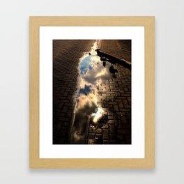 Clouds. Again Framed Art Print