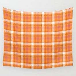 Plaid Tartan Tar Red Stripe Cloth Classic Wall Tapestry