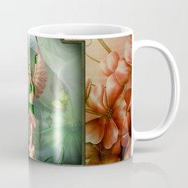 Wonderful fairy with butterflies Coffee Mug