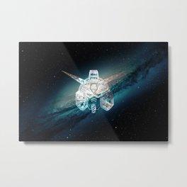 Galactic Gundam RX Metal Print