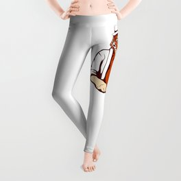 Tiger Poker Face Leggings