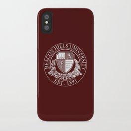 Beacon Hills University iPhone Case