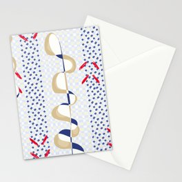 Minimal Muted Tones Organic Shapes Stationery Cards